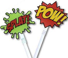 Superhero Fly Swatters   Craziest Gadgets
