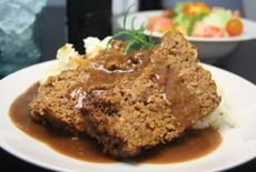 The CMWL Meatloaf with Mushroom Gravy...almost as good as Mom's