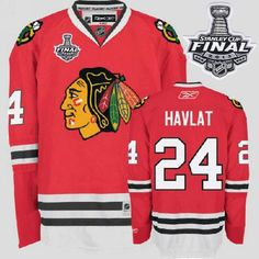 Blackhawks  24 Martin Havlat Embroidered Red With Stanley Cup Finals NHL  Jersey Nfl Jerseys 330ae19a9