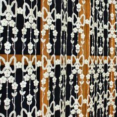 Macrame Lace Cafe Curtains Lace Valances, Lace Curtains, Lacemaking, Curtain Lights, Daisies, Diamond Earrings, Lily, French, Quilts