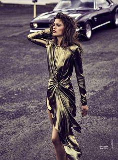 """""""Electric Dream"""" Vogue Australia 2017 SAINT LAURENT"""