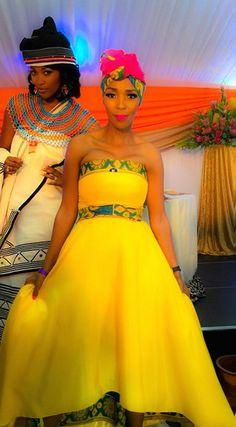 Rosette Ncwana wedding: Rosette Mokgomotsi Ncana & Nhlanhla Nciza #xhosatraditional #wedding African Traditional Wedding Dress, African Wedding Dress, African Print Dresses, African Print Fashion, African Fashion Dresses, African Dress, Traditional Outfits, Traditional Weddings, African Weddings
