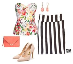 """""""How to wear red stripes like a boss"""" by missdannibba on Polyvore featuring Rupert Sanderson and Vintage America"""