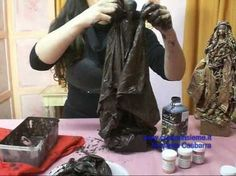 Paverpol Cloth Sculptures by Shirley Tasker 1 - YouTube