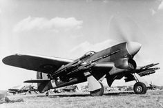 The fearsome Hawker Typhoon