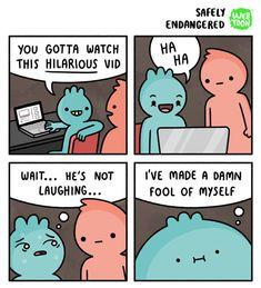 Funny safely endangered comics