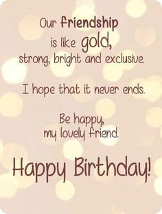 Best Birthday Wishes Quotes For Friend Friends