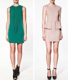 De la colección de Zara S/S 2012, están en las tiendas YA!