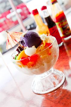 I seriously need to try halo-halo at some point.