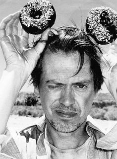 Steve Buscemi Ok he aint quite a honey but he is amazing and he has DONUTS!