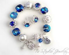 Hey, I found this really awesome Etsy listing at https://www.etsy.com/listing/293190047/pacific-ocean-bermuda-blue-bracelet-12mm