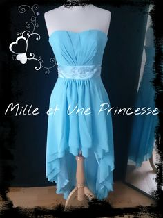 Robe de soirée-evening dress