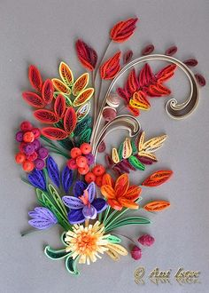 *QUILLING ~ kusudama, origami, bijuterii handmade...: Quilling - Autumn (Toamna) (2)