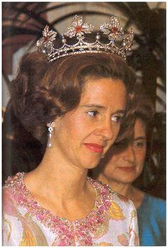 Benelux Royal Jewels: Spanish Wedding Gift Tiara