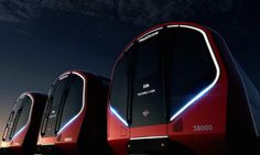 #London Unveilss new #Tron-Style Driverless Tube #Trains for the #Future