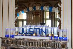 Candle Lighting Displays Bar Mitzvah Candle Lighting
