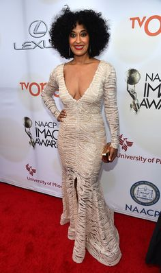 Tracee Ellis Ross in 46th NAACP Image Awards — Part 2