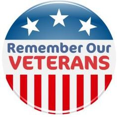 """Veterans Day clip art """"Remember Our Veterans"""""""