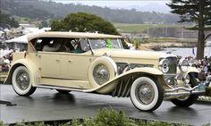 Beautiful! 1931 Duesenberg J Derham Tourster. Pebble Beach Concours 2012: Best in Class winner. © Rod Hatfield