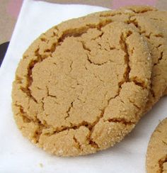 4 Ingredient, Gluten Free, Dairy Free, and GLORIOUS Peanut Butter Cookies. I've tried a similar 4-ingredient recipe and they really are easy and delicious.