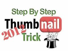 Learn how to create custom Video Thumbnails on YouTube (no need to be a partner). YouTube Thumbnail Trick