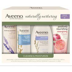 Aveeno-Naturally-Nurturing-Bath-Body-4-Piece-Set