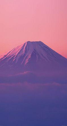 Fuji Mountain Alone #papers.co