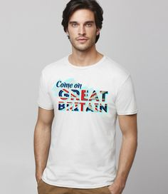 Support team GB T Shirt for Men