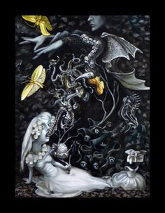 The Ectoplasm of Miss Svengali As Produced by Madam Phantasm Illusionista