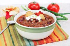 Slow Cooker Taco Soup - YUMMY!  Oh Yeah!  www.GetCrocked.com