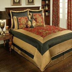 Sherry Kline Milano Comforter Set in Red - BedBathandBeyond.com