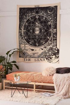 Urban Outfitters Star Tarot Tapestry
