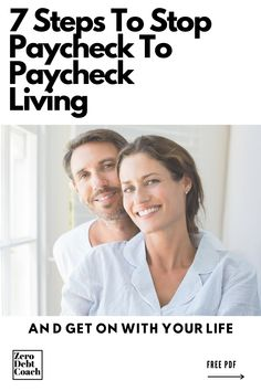 Living paycheck to paycheck is a straight up nightmare. I remember my days in that cycle and I remember how mentally exhausted I was, ALL THE TIME. When I discovered these 7 steps and implemented them, I was able to get out of the cycle AND pay down $43,000 in debt. If I can do it, so can you. Ways To Save Money, Money Tips, Money Saving Tips, How To Make Money, Living On A Budget, Frugal Living Tips, Budgeting Finances, Budgeting Tips, Finance Organization