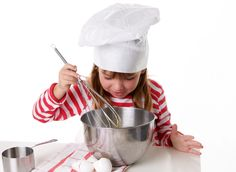 Cooking is a life skill that won't go to waste and will keep your kids up on those basic three Rs of the ol' school curriculum: reading, writing, and arithmetic.