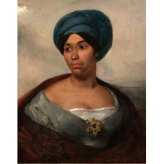 Portrait of a Woman in a Blue Turban, Eugène Delacroix, c. , Dallas Museum of Art