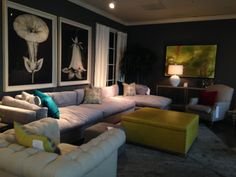 Lillian August showroom at High Point Market; photo taken by Taylor & Taylor Designs, Inc.