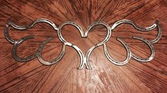 Horse Shoe Heart Angel Wings by Beckscustom on Etsy