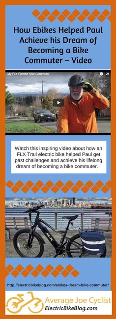 How Ebikes Helped Paul Achieve his Dream of Becoming a Bike Commuter -  Video Commute To db5869086