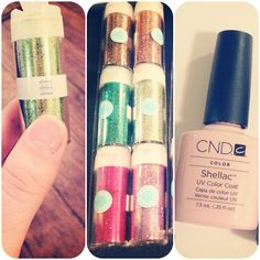 DD&C: Do it Yourself Glitter Shellac Nail Tutorial More