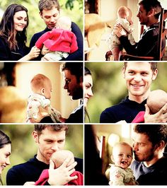 "#TheOriginals 2x09 ""The Map of Moments"" - Hayley, Klaus and their daughter Hope"