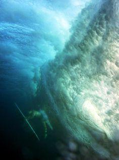 3b94a9e1bd439 Duck Dive · #blue #ocean #sea #nature #water Big Waves, Ocean Waves,