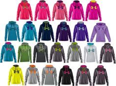 """""""Under Armour Sweatshirts"""" I want these all! Sporty Outfits, Athletic Outfits, Athletic Wear, Cute Outfits, Fashion Outfits, Sporty Clothes, Under Armour Outfits, Nike Under Armour, Under Armour Women"""