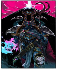Death Breath: Troy Galuzzi is an artist currently working at Dreamworks on Guillermo DelToro's Trollhunters. Character Portraits, Character Art, Character Design, Warhammer 40k Art, Warhammer Fantasy, Chaos 40k, Thousand Sons, Knight Art, Space Marine