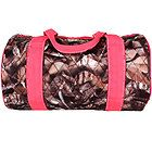 "Pink Black Orange Brown 14"" BNB Natural Camo™ Quilted Duffle Duffel Bag #SNQ8080"
