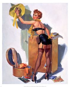 A Nostalgic Halloween: Sassy Pin Up Witch