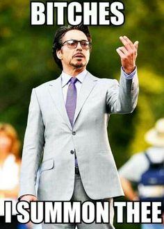 Robert Downey Jr ~ Iron Man