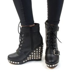 Wedge Hell Yeah - Abbey Dawn - Factory Girl Store