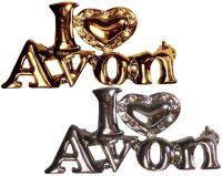 I Love Avon Pin