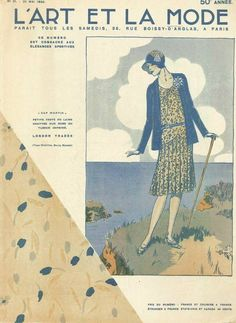 This is a weekly fashion magazine from 1929.