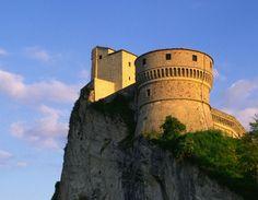San Leo - Scorcio della Fortezza